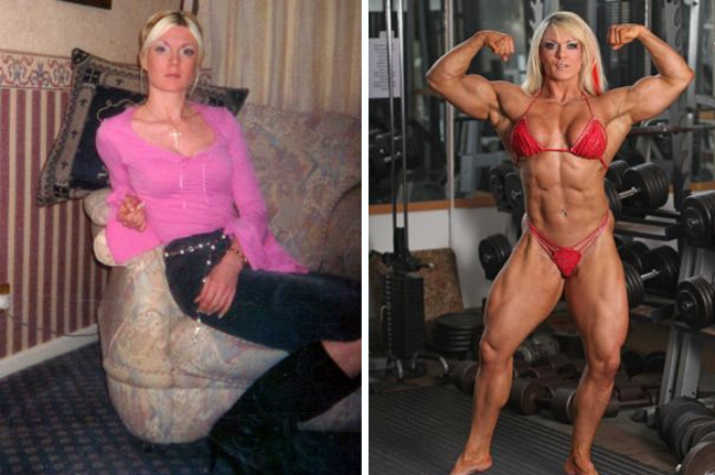 ραντεβού ένα μικρό κορίτσι bodybuilding