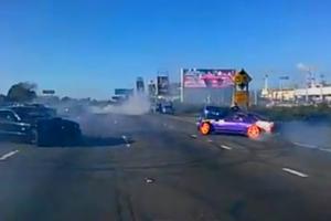 Τα αυτοκίνητα χορεύουν στην Καλιφόρνια
