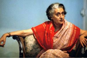 Η πρώτη γυναίκα επικεφαλής της Ινδίας Ίντιρα Γκάντι