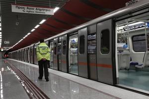 Ταλαιπωρία στο Μετρό λόγω συρμού που ακινητοποιήθηκε