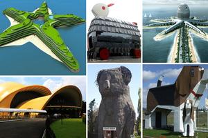 Κτίρια εμπνευσμένα από ζώα