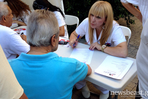 Δωρεάν εξετάσεις από εθελοντές νοσηλευτές