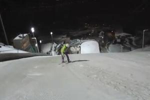 Με την όπισθεν κάνει σκι