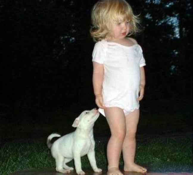 Для поднятия настроения-фото дети и животные!