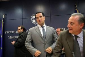 Συνάντηση εφ' όλης της ύλης Γεωργιάδη με αντιπροσωπεία του ΠΑΣΟΚ