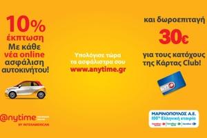 Ασφαλίστε το αυτοκίνητο και κερδίστε τα ψώνια του σούπερ-μάρκετ