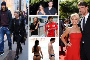 Αγαπημένοι αθλητές και οι ακόμα πιο αγαπημένες κυρίες τους