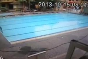 Τι συμβαίνει σε μια πισίνα όταν γίνεται σεισμός;