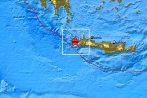 Δύο νέοι μετασεισμοί ταρακούνησαν την Κρήτη