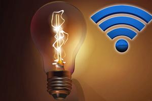 Κινέζοι επιστήμονες ανακάλυψαν λαμπτήρα που εκπέμπει σήμα Wi-Fi