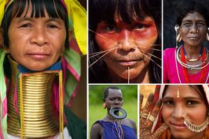 Τα piercing των φυλών της οικουμένης