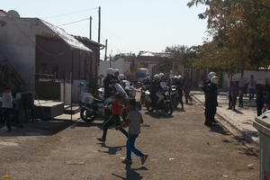 Αστυνομική επιχείρηση σε καταυλισμό Ρομά στην Ξάνθη