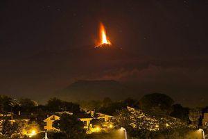 Έκρηξη στο ηφαίστειο της Αίτνα