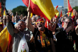 Διαμαρτυρία χιλιάδων Ισπανών για την αποφυλάκιση βάσκων αυτονομιστών