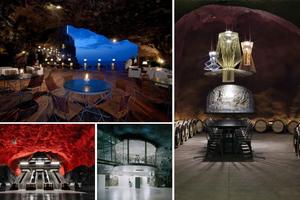 Εντυπωσιακές κατασκευές μέσα σε σπηλιές