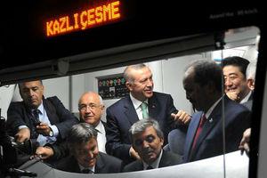 Προσωρινή διακοπή της κυκλοφορίας στην υποθαλάσσια σήραγγα της Τουρκίας