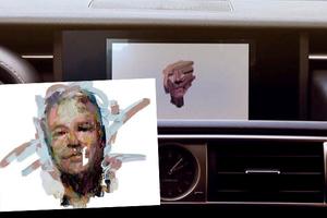 Αυτοκίνητο φιλοτεχνεί το πορτρέτο του οδηγού με βάση το οδηγικό του στιλ
