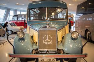 Μια βόλτα στο μουσείο της Mercedes-Benz
