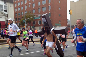 «Ιησούς» εθεάθη στον Μαραθώνιο της Νέας Υόρκης