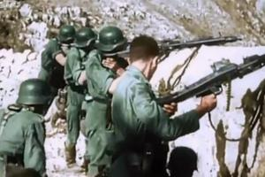 Έγχρωμα πλάνα από τον Β' Παγκόσμιο Πόλεμο