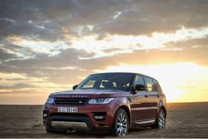 Το Range Rover Sport «βασιλιάς» της αραβικής ερήμου