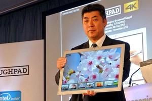 Το γιγάντιο 4K tablet της Panasonic κυκλοφορεί τον Ιανουάριο