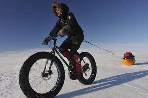 Ο άνδρας που θα διασχίσει τον Νότιο Πόλο με... ποδήλατο!