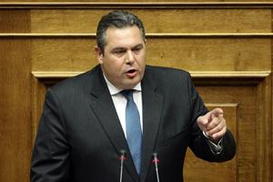 Συζήτηση αρχηγών για Κύπρο και Σκόπια ζήτησε ο Καμμένος