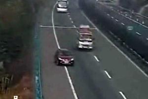 Η γυναίκα που οδήγησε 2 χιλιόμετρα... όπισθεν στην εθνική οδό!