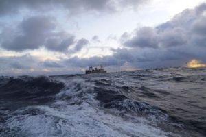 Βυθίστηκε φορτηγό πλοίο στη Σκωτία με κυπριακή σημαία