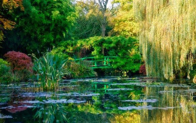 Ο παραμυθένιος κήπος του Monet