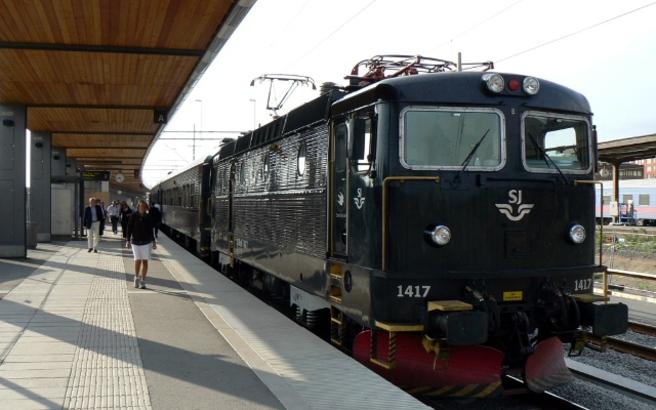 Ταξίδι στην Ευρώπη με το τρένο