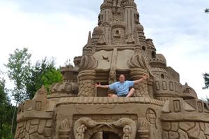 Χτίζοντας το ψηλότερο κάστρο από άμμο