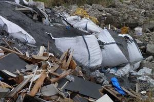 Επικίνδυνα απόβλητα εντοπίστηκαν σε περιοχή του Ασπροπύργου