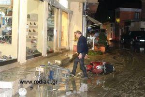 Παρέμβαση εισαγγελέα για τις πλημμύρες στη Ρόδο