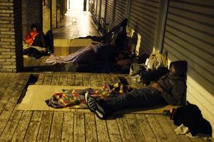 Μέτρα του δήμου Αθηναίων για τους άστεγους
