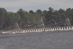 Η μεγαλύτερη ανθρώπινη θαλάσσια πυραμίδα