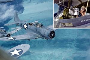 Έγχρωμες αερομαχίες από το Β' Παγκόσμιο Πόλεμο