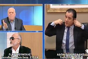 Αποχώρησε προσωρινά από την εκπομπή του ΑΝΤ1 ο Άδ. Γεωργιάδης