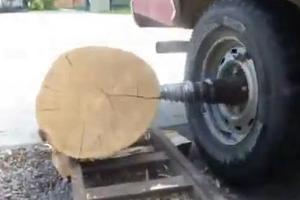 Πατέντα για κόψιμο ξύλων