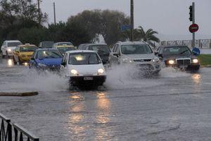 Με προβλήματα η κυκλοφορία στη Χαλκιδική