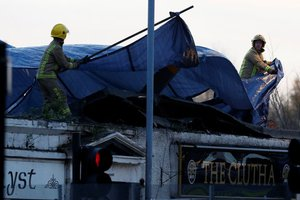 Η αστυνομία της Γλασκώβης επιβεβαίωσε τον θάνατο ενός ανθρώπου