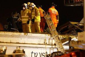 Αναφορές για τρεις νεκρούς από τη συντριβή ελικοπτέρου στη Γλασκώβη