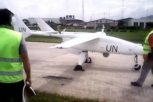Πρώτη πτήση για το μη επανδρωμένο αεροσκάφος του ΟΗΕ