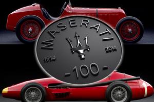 Ένας αιώνας ζωής για τη Maserati!
