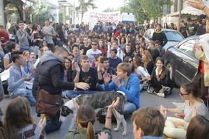 Πορεία μαθητών στα Χανιά στη μνήμη του Αλέξανδρου Γρηγορόπουλου