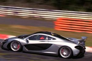 Η McLaren P1 στην πίστα Nurburgring