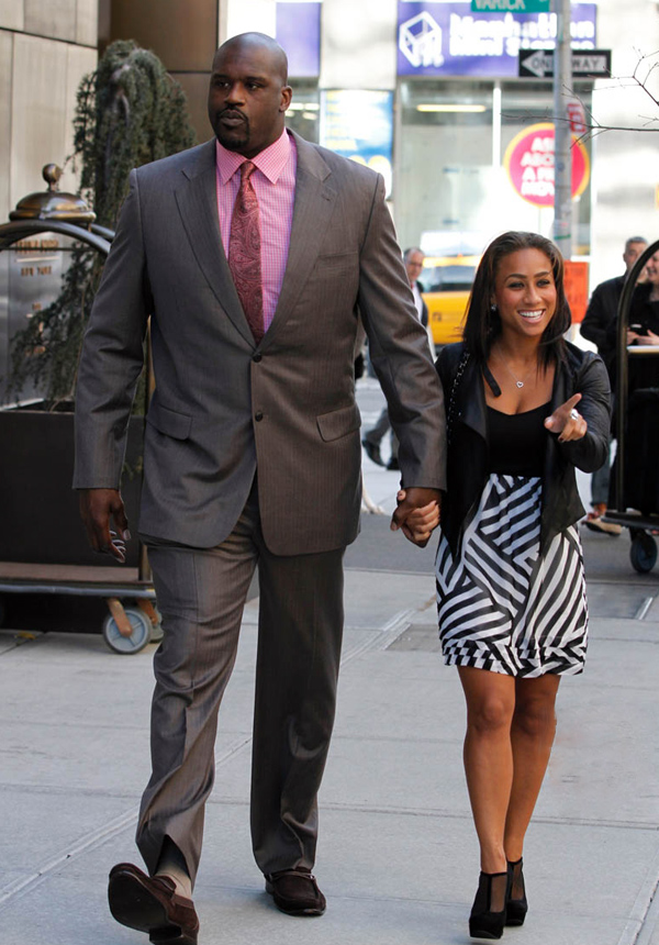 Pictures of shaq and his wife, nikki benz day with a pornstar