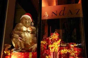 «Γλυκά» Χριστούγεννα σε πολυτελή ξενοδοχεία