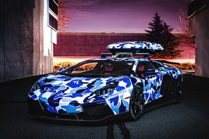 Πάει η Aventador στα βουνά;
